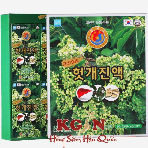 Bổ gan giải rượu Hovenia Dulcis TW Hàn Quốc