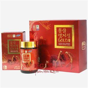 Cao hồng sâm linh chi Hàn Quốc 2 lọ 480Gr
