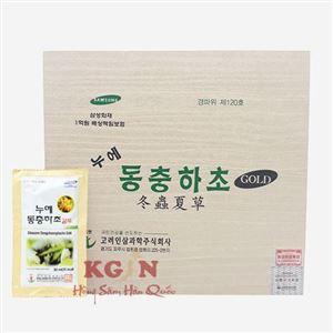 Đông trùng hạ thảo hộp gỗ Bio 60 gói