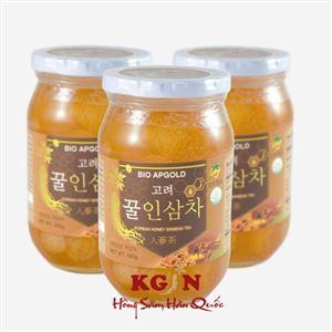 Nhân sâm tươi ngâm mật ong Hàn Quốc