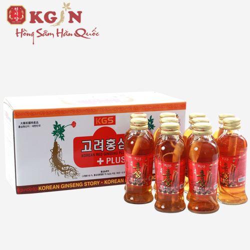 Nước hồng sâm nguyên củ KGS