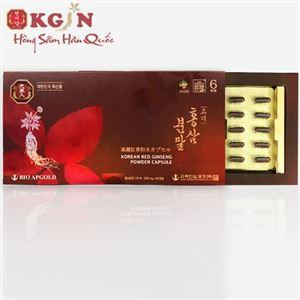 Viên hồng sâm Hàn Quốc 6 năm tuổi nguyên chất 100%
