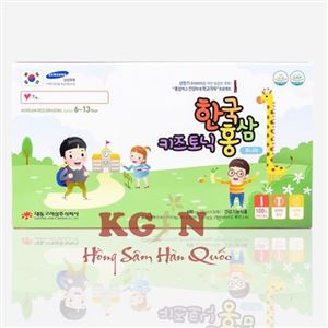 Hồng sâm cho trẻ em Hàn Quốc từ 6-13 tuổi